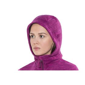 Columbia Fast Trek Hooded Jacket Women Dark Raspberry